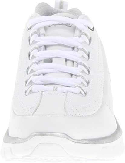 Skechers (SKEES) Women's Synergy Elite Status Sneakers White, 5.5 UK