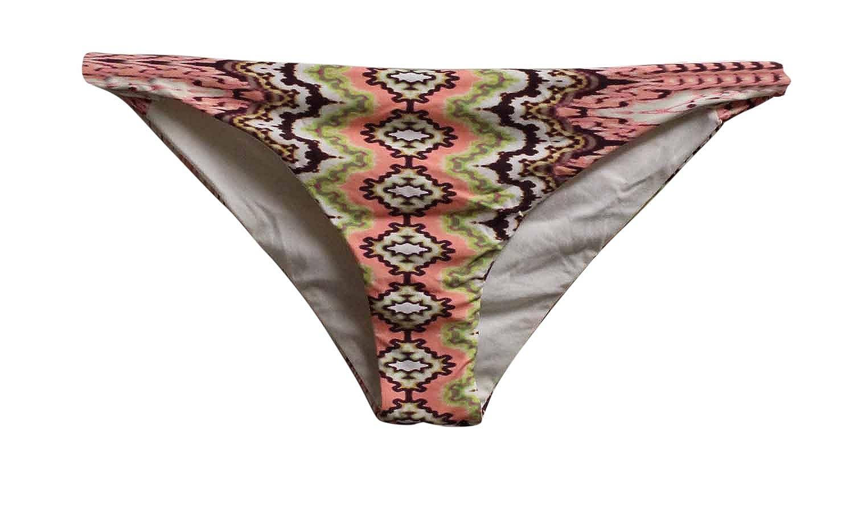 d02e243cad Amazon.com  O Neill Womens Bahia Side Tab Twist Bikini Bottoms Pink   Clothing