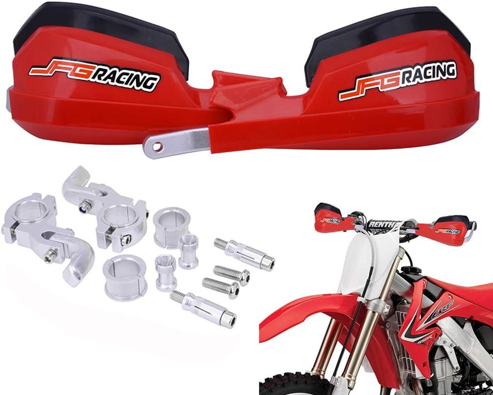 "Dirt Bike ATV Motocross Enduro 7//8/"" Handlebar Motorcycle Hand Guards Handguards"