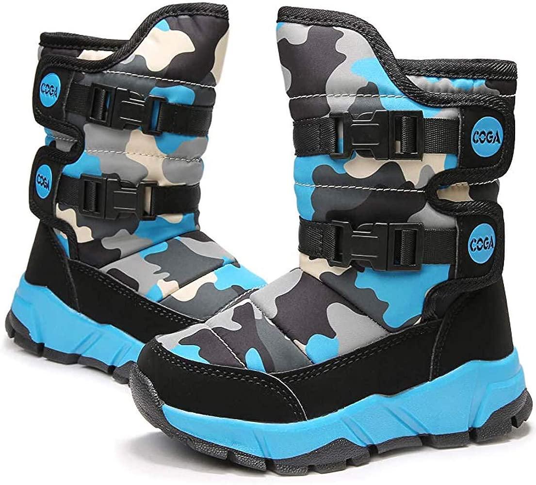 Girls/Boys Outdoor Waterproof Shoes Kids Winter Snow Boots