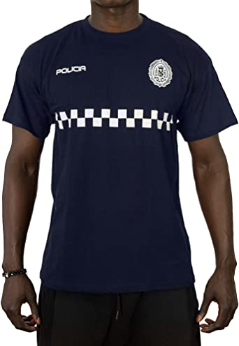 Alpimara Camiseta Policía Local para Niño: Amazon.es: Ropa y accesorios