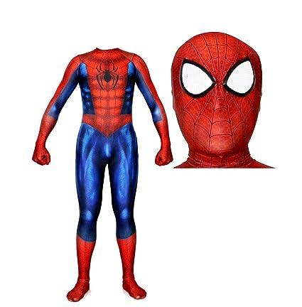 Amazon com: DSFGHE 3D Digital Printing Muscle Spiderman Costume