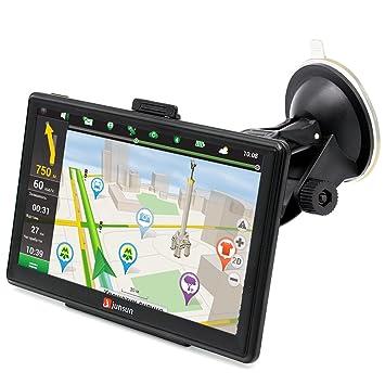 """7"""" GPS para Coche 8GB DDR/800MHZ Actualización Gratis de Mapa de Europa Toda"""