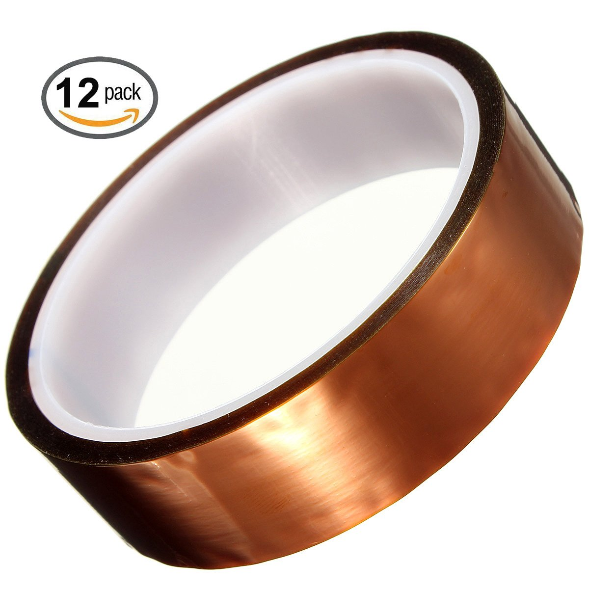 Merco Polyimide Film Tape 1'' x 36 yds - use for Kapton by Merco Tape
