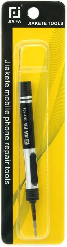 Repair Kits JF-608-2.5 Hollow Cross Tip 2.5 Middle Bezel Repair Screwdriver Black