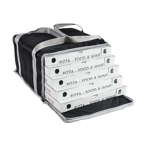 Bolsa Termica de pizza para llevar SAFEMI hasta 5/6 cajas de ...
