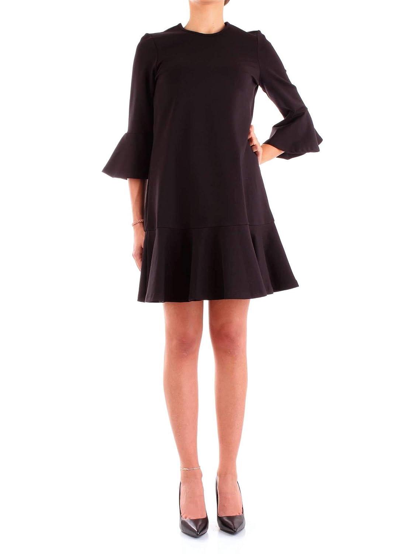 Silvian Heach Women's PGA18688VEblack Black Viscose Dress