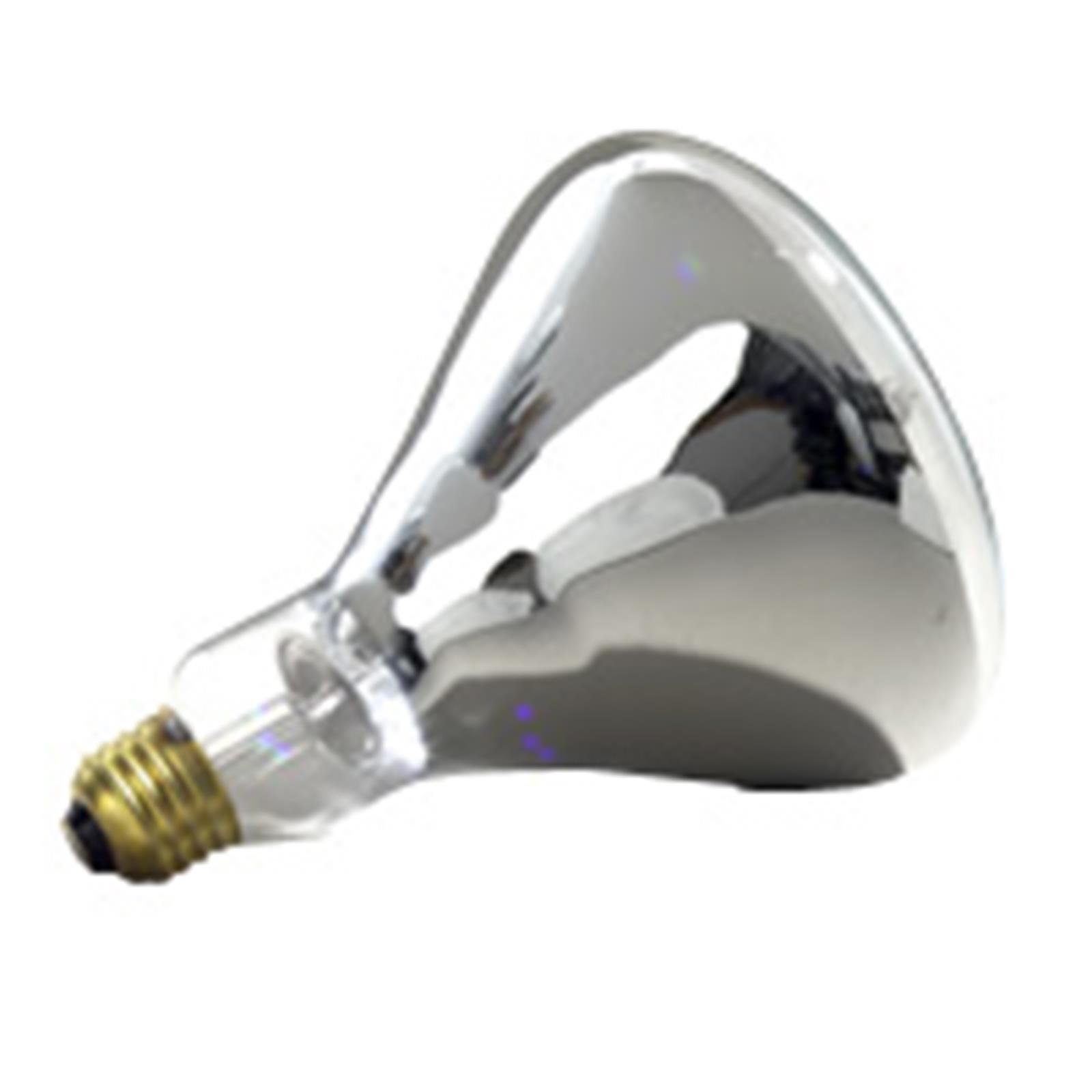 6 Qty. Halco 375W R40 CL 120V HEAT 5M Prism R40CL375 375w 120v Incandescent Clear Infrared Prism Lamp Bulb