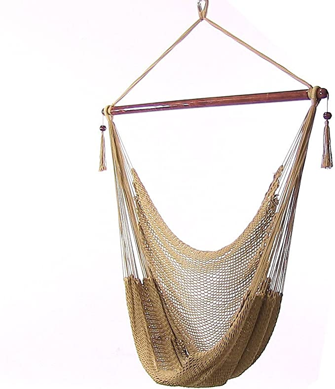 Sunnydaze Hanging Rope Hammock Chair Swing – Best For Comfort