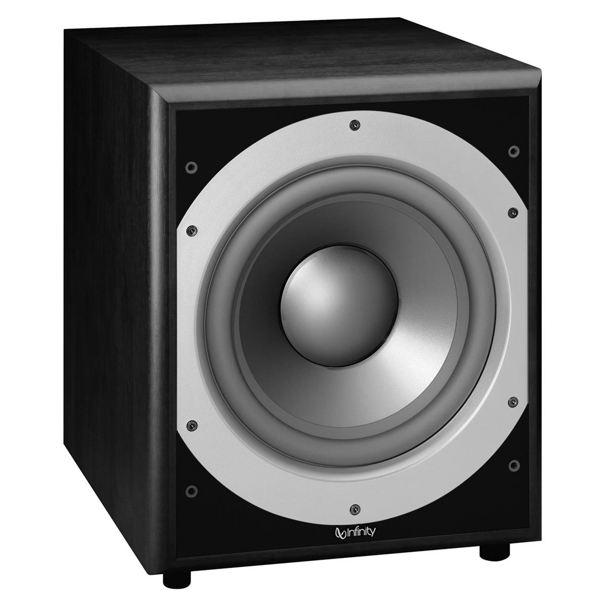 Infinity Primus Ps410 10 Inch 300 Watt Powered Subwoofer 60 Amplifer Circuit Black Home Audio Theater