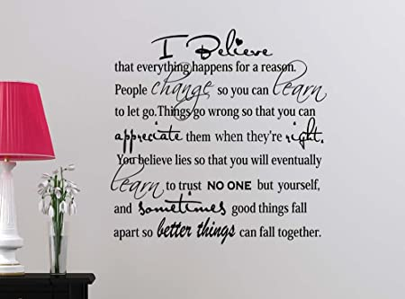 Review Wall Decal I believe