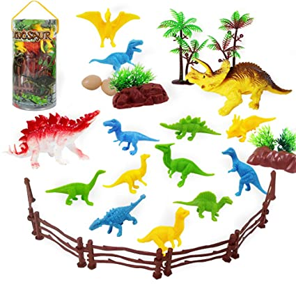 Dinosaur Toys For 3 Year Olds Boys And Girls Mini Dinosaurs Cupcake Topper