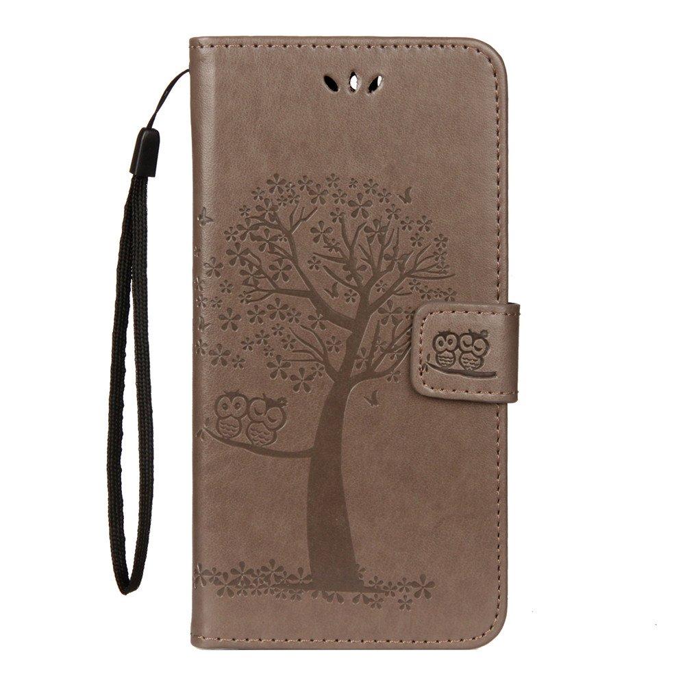 Huawei Honor 7C Custodia Skin Pu Portafoglio Protettiva in pelle per Huawei Honor 7C Bookstyle Flip Cover Stand Case a Libro Portafoglio Carta Fessura, Funzione Stand Verde Venga amigos