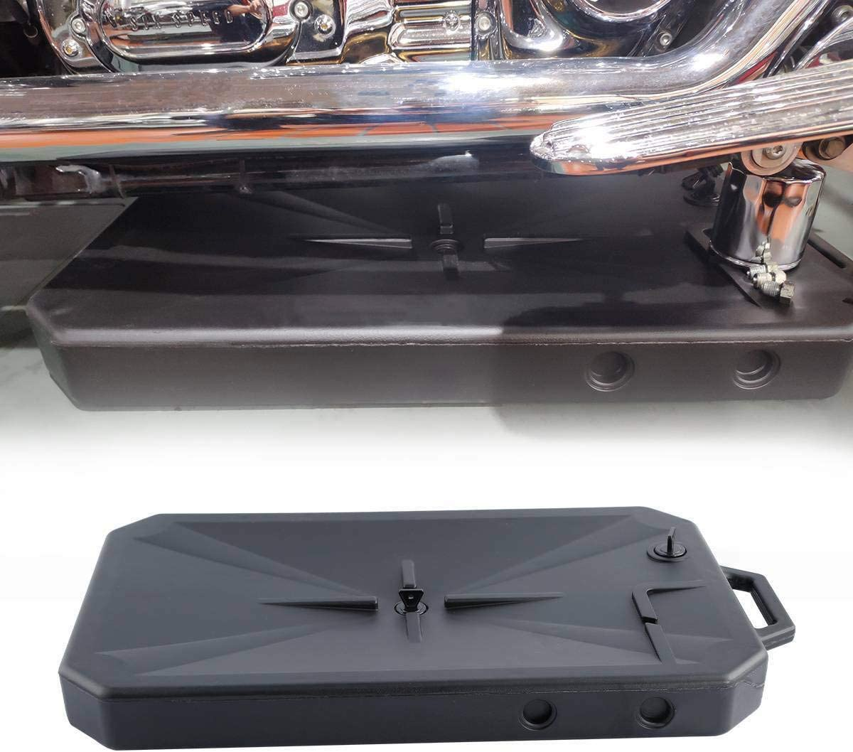 XFMT ABS Low Profile Oil Drain Pan W//Spout For Harley ALL Models Road King Street Electra Glide Heritage Softail Fat Bob Forty Eight 1984-2020