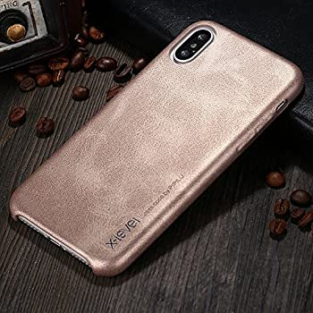 Amazon.com: Funda vintage para iPhone X., Dorado: Cell ...