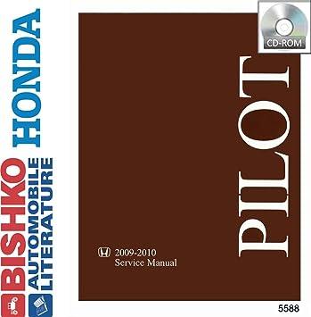 2009 2010 2011 Honda Pilot Shop Service Repair Manual CD