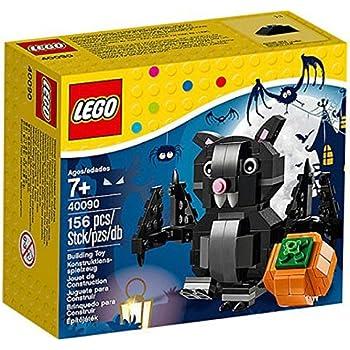 lego halloween set bat pumpkin 40090