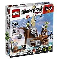 Kit de construcción LEGO Angry Birds 75825 Piggy Pirate Ship (620 piezas)