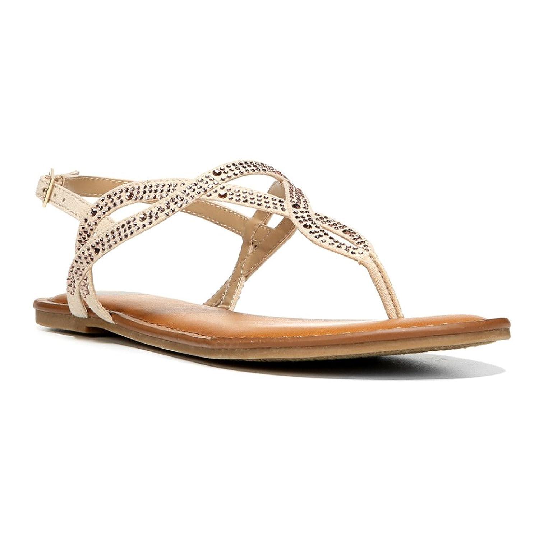 Fergalicious Womens Sylvia Open Toe Casual Slingback Sandals