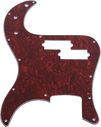 UEB placa Protector guitarra 3 Pick perla Golpeador guardias para ...