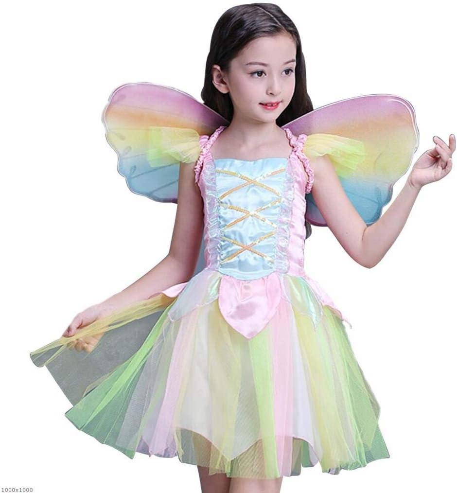 DDHZTA Halloween Cosplay Girl Elf Disfraz Princesa Vestido Niño ...