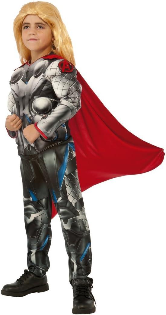 Disfraz de Thor deluxe de Los Vengadores 2 para niño: Amazon.es ...