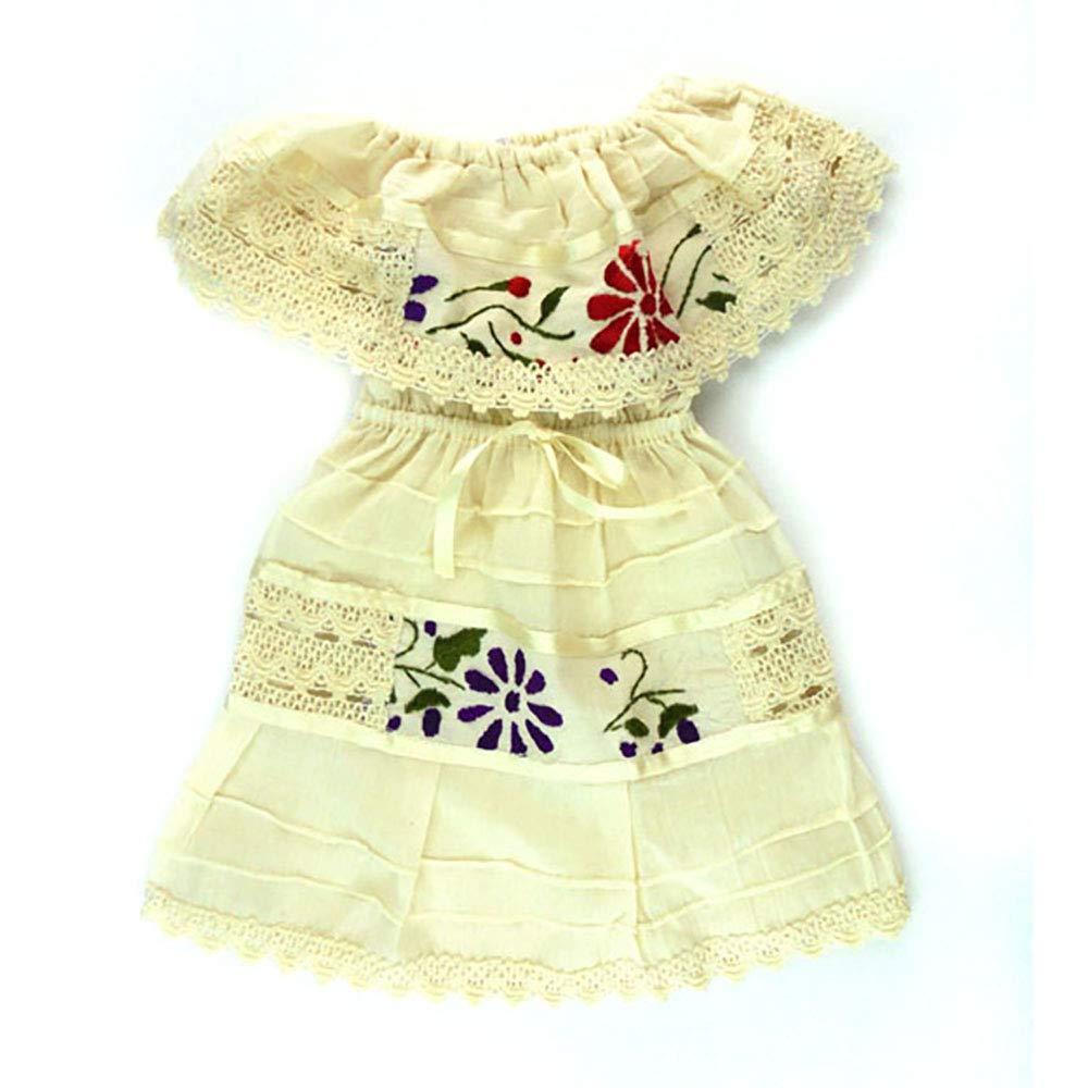 直営店に限定 Mexican B07GX4KKHF artisans BABY_COSTUME ベビーガールズ カラー: US サイズ: one fits size fits all カラー: ホワイト B07GX4KKHF, Tiger Liry:296ca0a7 --- a0267596.xsph.ru