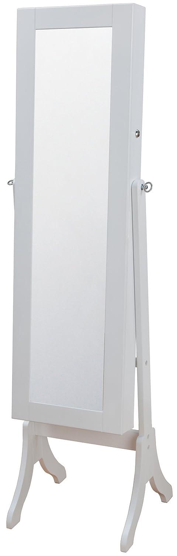 インテリアジュエリー収納ミラーハイタイプ ホワイト OSK-ST109(WH) B006W0ZY0S ハイタイプ|ホワイト ホワイト ハイタイプ