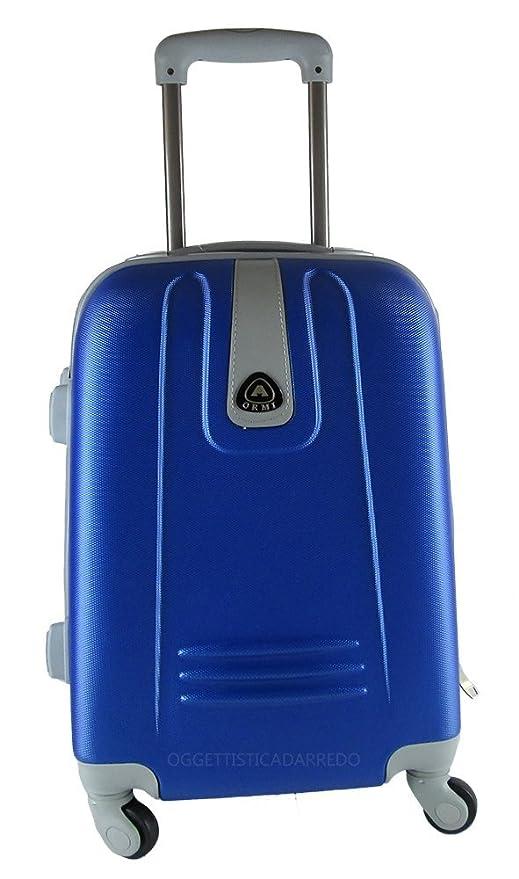 Maleta de ruedas, formato Ryanair, de ABS rígido, para cabina, equipaje de mano de 4 ruedas: Amazon.es: Equipaje