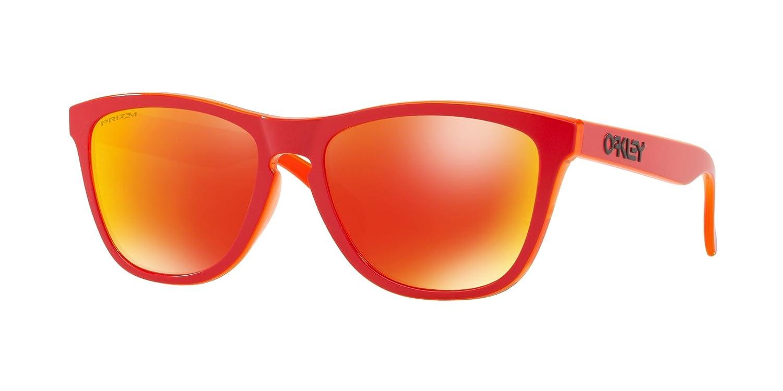 [オークリー] OAKLEY サングラス メンズ 0OO9245 B07C82R7KF 日本 54 (FREE サイズ) MATTE RED TRANSLUCENT ORANGE MATTE RED TRANSLUCENT ORANGE 日本 54 (FREE サイズ)