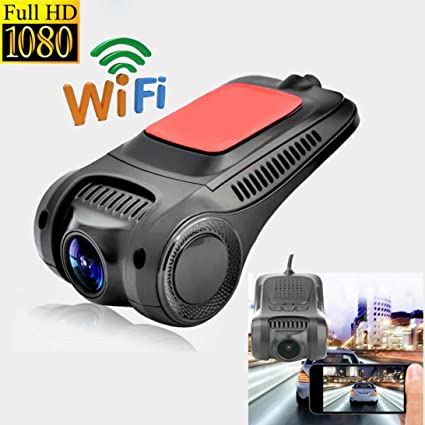 DC12V Wireless Wifi Hidden Car DVR Camera FHD 1080P 140° Dash Cam Video Recorder