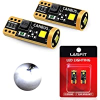 LASFIT 194 168 2825 W5W LED Bulb Canbus Error Free, T10 LED Bulbs 400LM 6000K for Dome Map License Plate Trunk Cargo…