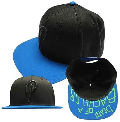 Panic At The Disco baseball Cap Death Of A Bachelor Official Black Snapback  One Size  Amazon.co.uk  Clothing 0b329e72579