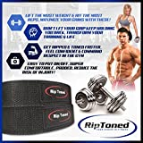 Lifting-Straps-By-Rip-Toned-PAIR-Normal-or-Small-Wrists-Bonus-Ebook-Cotton-Padded-Weightlifting-Xfit-Bodybuilding-Strength-Training-Powerlifting