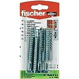 Fischer 77863 - 10 x 60 mm x estante universal plug - multicolor (4 piezas)