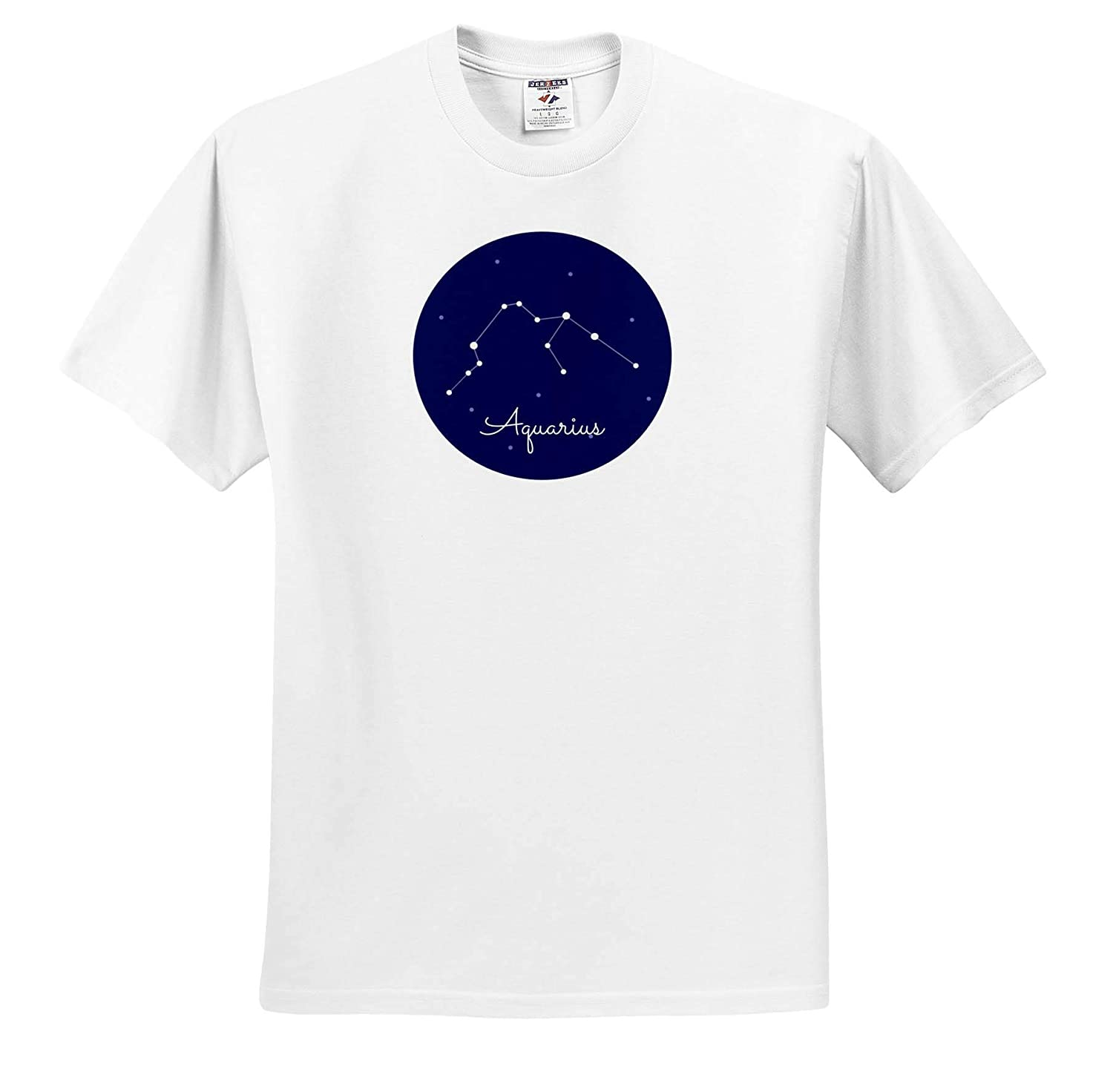 ts/_320820 Image of Aquarius 3dRose Carrie Quote Adult T-Shirt XL