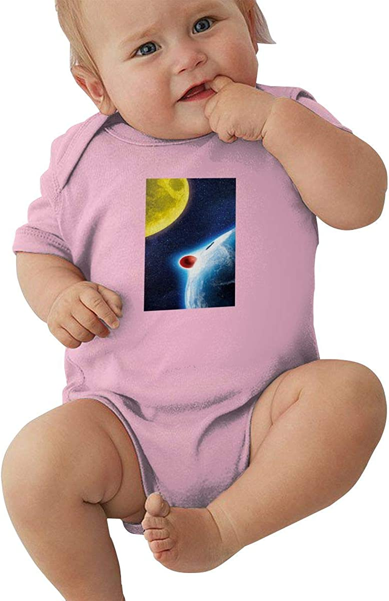 EVE JOHN Doraemon Earth and Moon Baby Girl Jumpsuits Comfortable Black