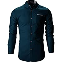 FINIVO FASHION Men Cotton Casual Shirt