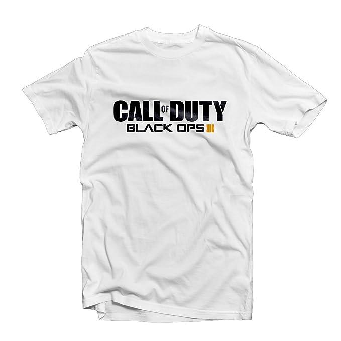 Camiseta Call Of Duty Black Ops 3, Xbox, Ps4, gamer, zombies, COD BO3, Nuketown Blanco blanco Large: Amazon.es: Ropa y accesorios