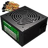 Tacens APII500 500W ATX Negro unidad de - Fuente de alimentación (200 - 240 V, 20+4 pin ATX, 50 - 60 Hz, ATX), color negro
