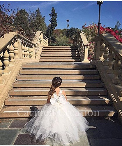 Mini Bride Flower Girl Dress 1000 by Carmen Creation