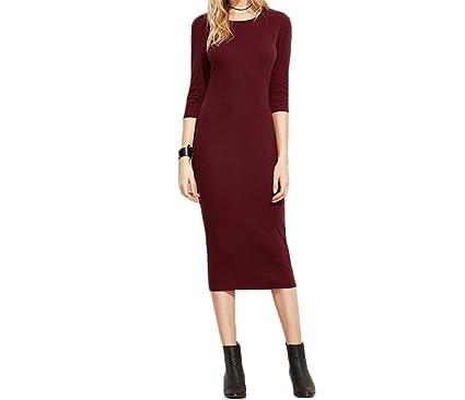 Robin Santiago Office Ladies 2017 Womens Dresses Autumn Elegant WomanS Dress Women 3/4 Sleeve