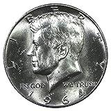 1964 Kennedy Silver Half Dollar - Brilliant Uncirculated Half Dollar Brilliant Uncirculated