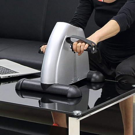 Mini bicicleta estática pedales para entrenamiento de brazos y ...