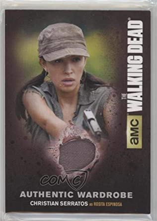 Christian Serratos Rosita Espinosa Trading Card 2016