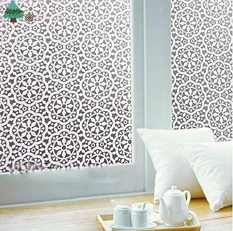 Lifetree 003 pellicole per vetri privacy pellicola sé statica pellicola adesiva 90 * 200cm / piccolo mosaico
