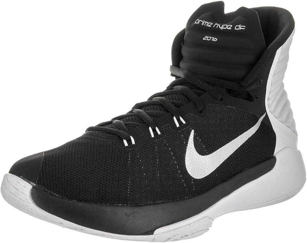 Nike 844787-001, Zapatillas de Baloncesto para Hombre, Negro ...