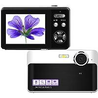 Digital Camera Mini Video Camera Point and Shoot Camera 2.4inch 24 MP HD Students Digital Camera for Kids Teenagers…