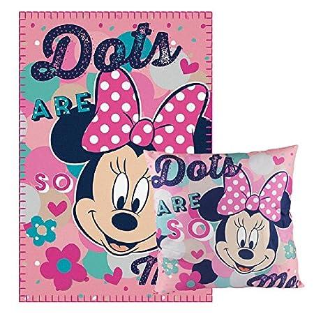 Set Manta cojin Minnie Disney: Amazon.es: Hogar