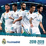 2019 Real Madrid (17 month) Wall Calendar (English and Spanish Edition)